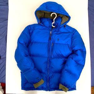 Polo Ralph Lauren Down Hooded Jacket-Sapphire Star